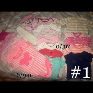 Other - Baby girl clothes 3m 3/6 6/9 12/18m